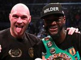 Deontay Wilder claims Anthony Joshua's camp are desperate for a unification fight