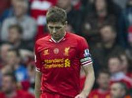 gary neville opens up on steven gerrard's slip… and says simon mignolet should have done better