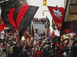 Thousands celebrate in the streets as Atlanta United bring home MLS Cup