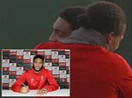 Virgil van Dijk posts video of moment he found out Liverpool team-mate Joe Gomez had signed new deal