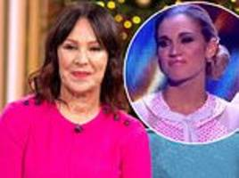 arlene phillips defends ashley roberts as former strictly judge claims she 'is an exquisite dancer'