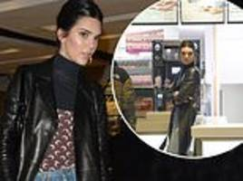 Kendall Jenner gets her fast food fix at McDonald's... after wowing at the British Fashion Awards