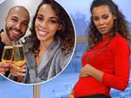 rochelle humes reassures marvin she's not expecting after sparking pregnancy rumours