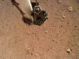 Footage from NASA InSight rover shows martian soil in great detail