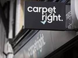 Carpetright shares spike despite heavy losses as store closures help it get back on track