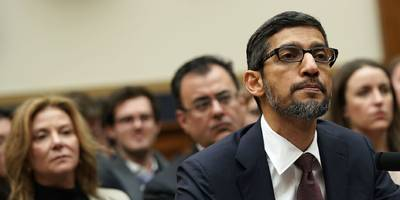 google ceo sundar pichai's testimony to congress exposed the abject failings and futility of washington's version of tech policy (goog)