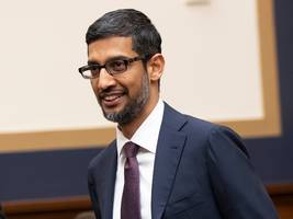 google's ceo explains why a picture of donald trump comes up when you image search for 'idiot' (goog, googl)