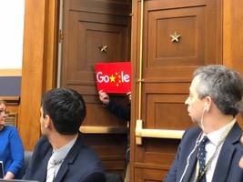 Sundar Pichai says more than 100 Google employees were working on a censored China search engine at one point (GOOG, GOOGL)