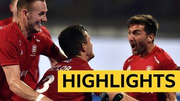 hockey world cup: england 2-0 new zealand - highlights