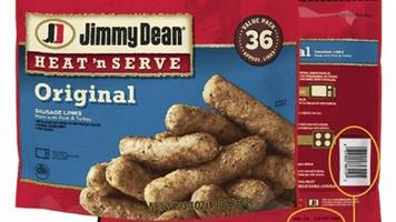 jimmy dean recalls thousands of pounds of meat products