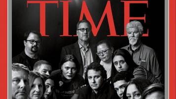 time honors members of the press as its 2018 person of the year