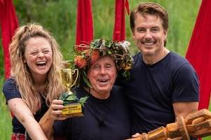 i'm a celebrity 2018 final breakdown of voting figures reveal harry redknapp stormed to win