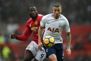 manchester united step up chase for key tottenham hotspur man; liverpool to beat chelsea to £70m star; unai emery lines up arsenal deal for wonderkid