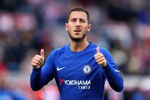 eden hazard's chelsea contract talks 'stall' as real madrid boss demands manchester united favourite