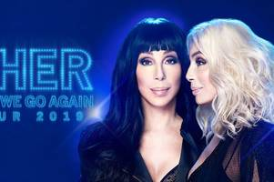 cher is coming to birmingham during first uk tour for 14 years