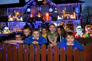 Family Christmas lights left on 24/7 in Kingstanding - and this how much it costs