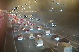 M25 Dartford Crossing traffic building as 40 minute delays expected