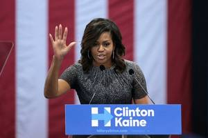 Michelle Obama adds Cleveland to book tour; she will appear March 16