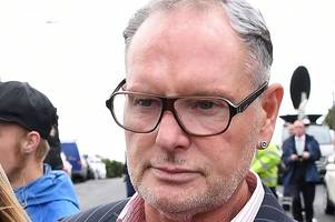 paul gascoigne to appear in court over alleged sexual assault on train