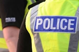 police want to speak to two men after apparent stabbing in larkhall street