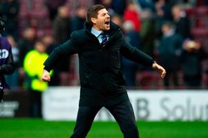 Steven Gerrard on Rangers and Liverpool ambitions as he goes against the clock in quick-fire quiz
