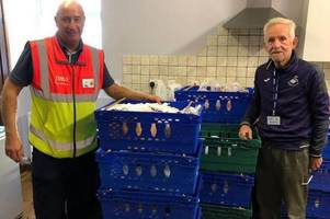 a mystery person ordered £300 worth of food from tesco and had it delivered to a foodbank