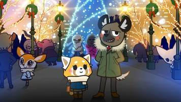 Netflix's Aggretsuko wants to wish you a very metal Christmas