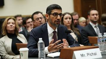 Google CEO Sundar Pichai pressed on bias and China search engine on Capitol Hill