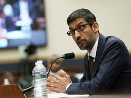 Mr Pichai goes to Washington: The Google CEO testified in front of the House Judiciary Committee