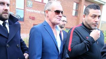 Paul Gascoigne pleads not guilty to sex assault on Durham train