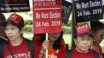 thailand election date set and campaign ban lifted