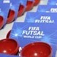Futsal World Cup qualifying draw live on Wednesday