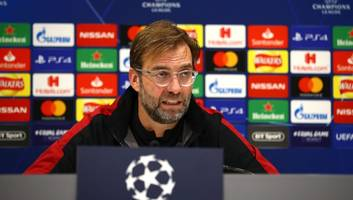 jurgen klopp admits he spoke to napoli president over manager's role before joining liverpool