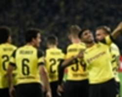 champions league: borussia dortmund's first-place finish thrills achraf hakimi