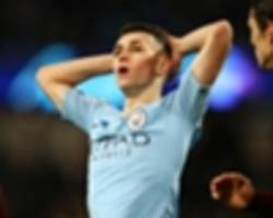 england have a diamond - guardiola hails city youngster foden