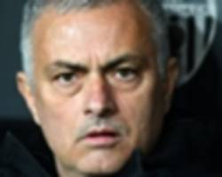 'i didn't learn anything from this game' - mourinho not thrilled with valencia loss