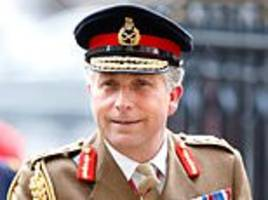 afghan veterans are 'pitied' by the public rather than respected, chief of defence staff claims