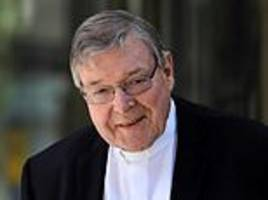 george pell: pope removes scandal-hit cardinals from inner circle