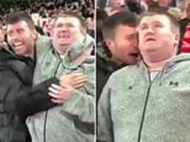 Heartwarming moment Liverpool fan describes Mo Salah's goal against Napoli to his blind cousin