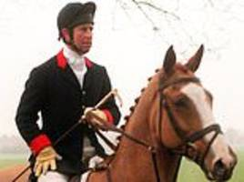 prince charles' favourite hunt is banned from using council land