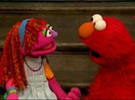 sesame street muppets' lily now homeless after being food insecure because her family was too poor