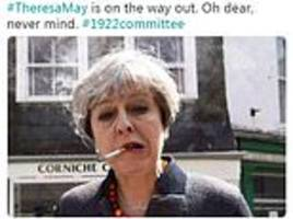 twitter users fear brexit will ruin christmas as they react to theresa may news