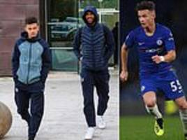 chelsea youngster george mceachran joins senior squad for vidi trip