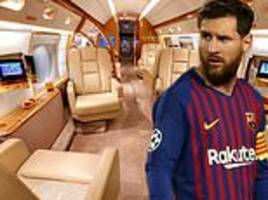 Inside Lionel Messi's staggering new £12m private jet