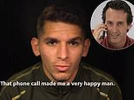 lucas torreira reveals he almost missed out on arsenal move before unai emery's timely intervention