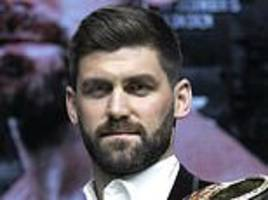 rocky fielding: 'i won't freeze in the ring any more than i'm freezing here'