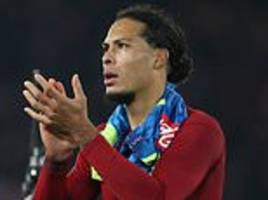 Virgil van Dijk sets sights on Champions League glory after Liverpool progress to knockout stages