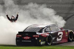 nascar on fox's 12 gifts of the 2018 season: austin dillon gets the no. 3 back to victory lane at daytona