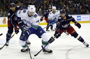 Canucks rally in the third period to beat Blue Jackets 3-2
