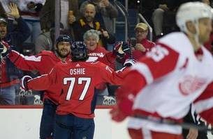 Red Wings suffer 6-2 rout in Washington; Ovechkin nets hat trick